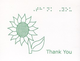 braille greeting cards archives  tactile vision graphics, Birthday card