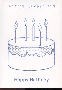 Birthday candles Monocolour